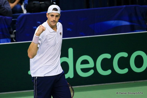 Isner, Querrey Put United States In Charge Against Belgium