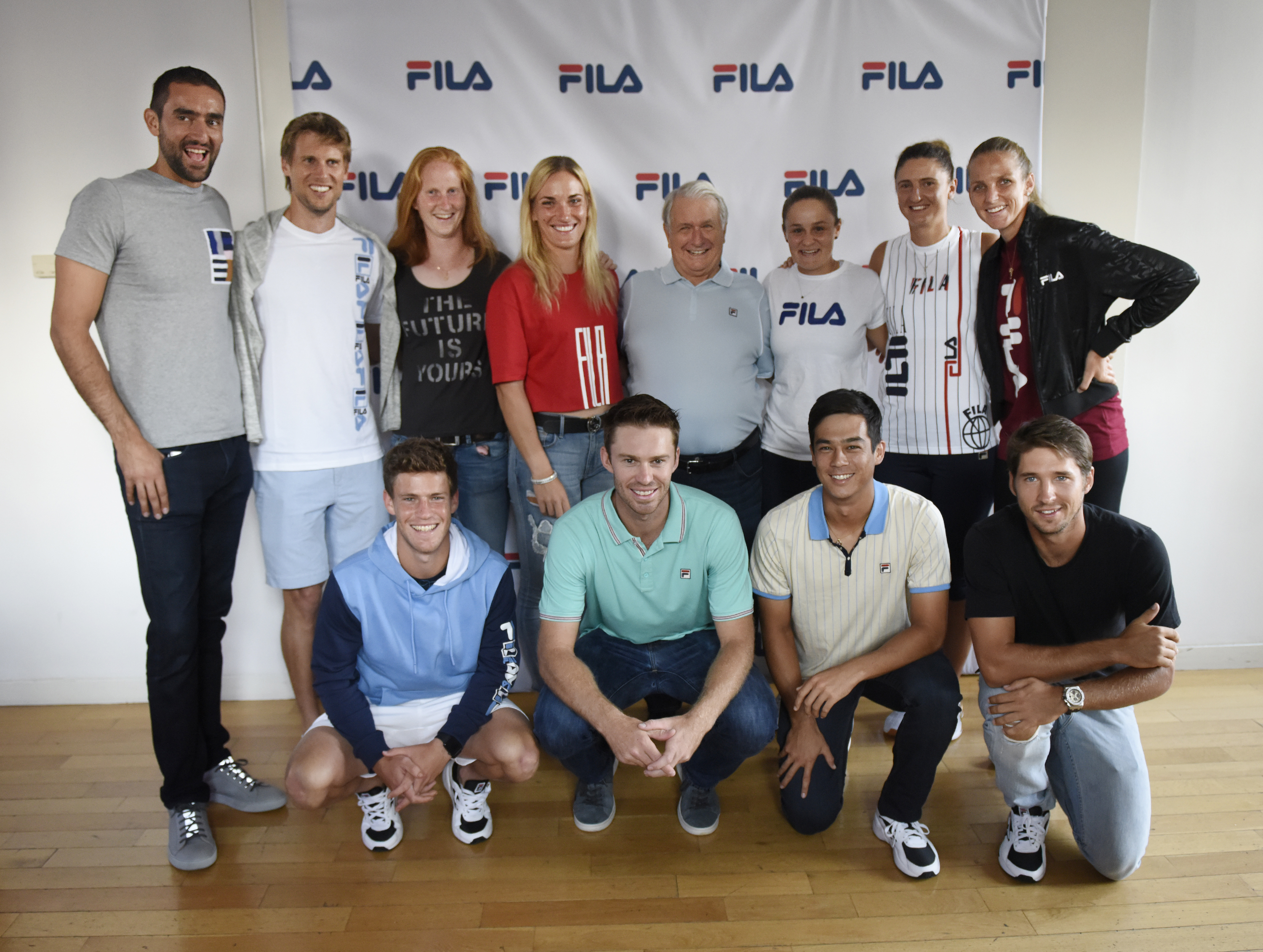 FILA tennis event at Bryant Park Hotel, 8.24.2018.