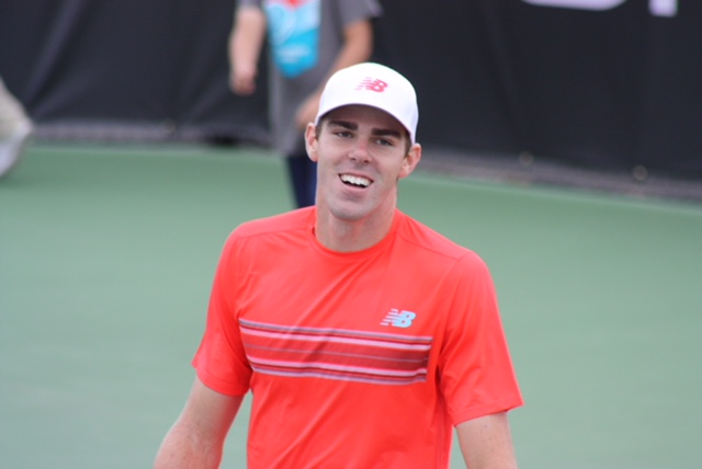 Tomic out, Thompson wins at New York Open