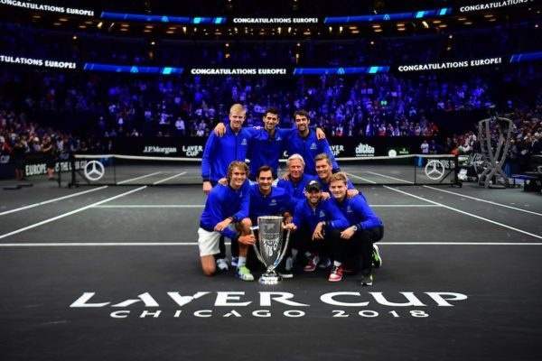 Federer and Zverev Singles' Wins Lead Team Europe to Victory at Laver Cup
