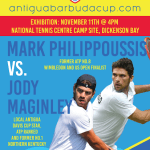 Antigua Cup 2018 – Monday's Order of Play,  Boys & Girls Singles Draws