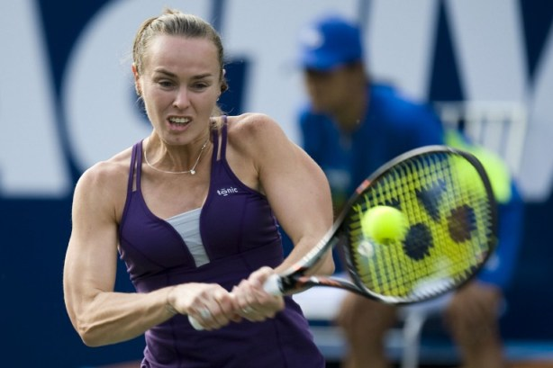 TENNIS-VENEZUELA-SWITZERLAND-US-FRIENDLY-HINGIS