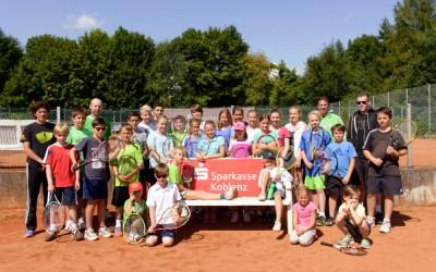 Tenniscamps 2013: Drei Vereine, eine Tennisschule, 62 Teilnehmer und jede Menge Spaß
