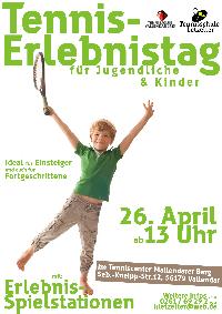 Aktiv in den Frühling: Tennis-Erlebnistag im Tenniscenter Mallendarer-Berg
