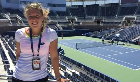 Großes Familienfest: 20 Jahre Tennisschule Letzelter mit Anna-Lena Friedsam