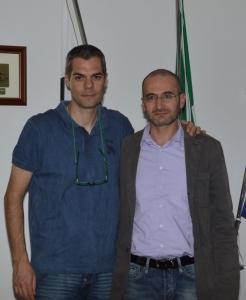 Simone & Antonio Pinna Sindaco di Norbello - Ott. 2013