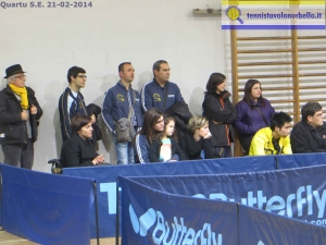 La tifoseria del Tennistavolo Norbello