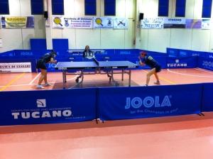 a dx Marina Conciauro in competizione con Lisa Ridolfi (Foto Doni Carrucciu)