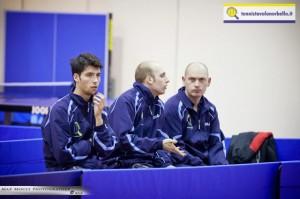 da sx Mauro Locci, Luigi Rocca e Maxim Kuznetsov (Max Mocci Fotografia)