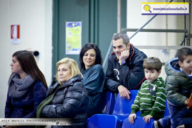 Il presidente Carrucciu si gusta il match con familiari e amici (Max Mocci Fotografia)
