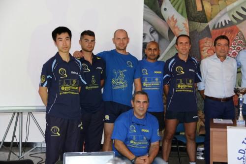 Gli atleti della A1 (Foto Gianluca Piu)
