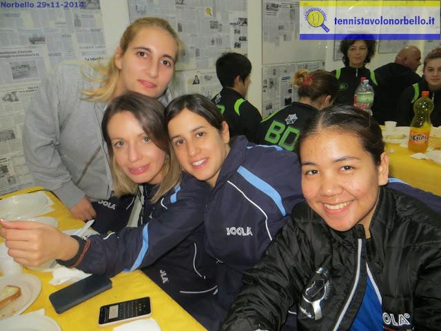 Foto di gruppo per le norbellisime (Foto Gianluca Piu)