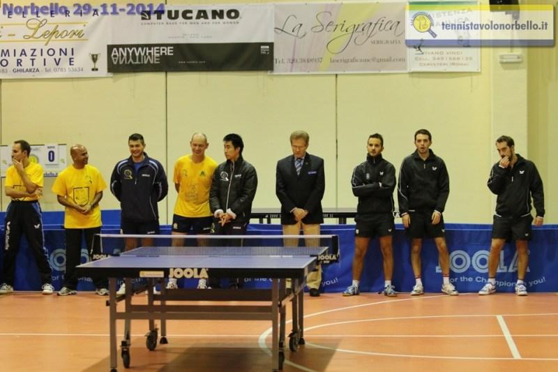 La presentazione della A1 maschile (Foto Gianluca Piu)