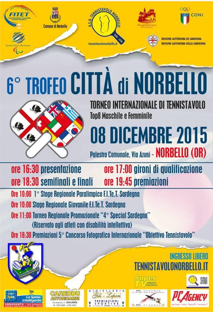 Locandina 6 Trofeo Città di Norbello - 08 Dic. 2015 Web