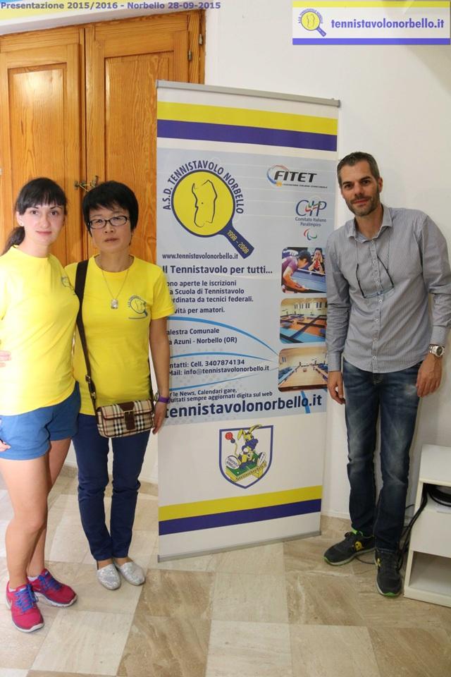 Ganna Farladanska, Wei Jian e Simone Carrucciu (Foto Gianluca Piu)