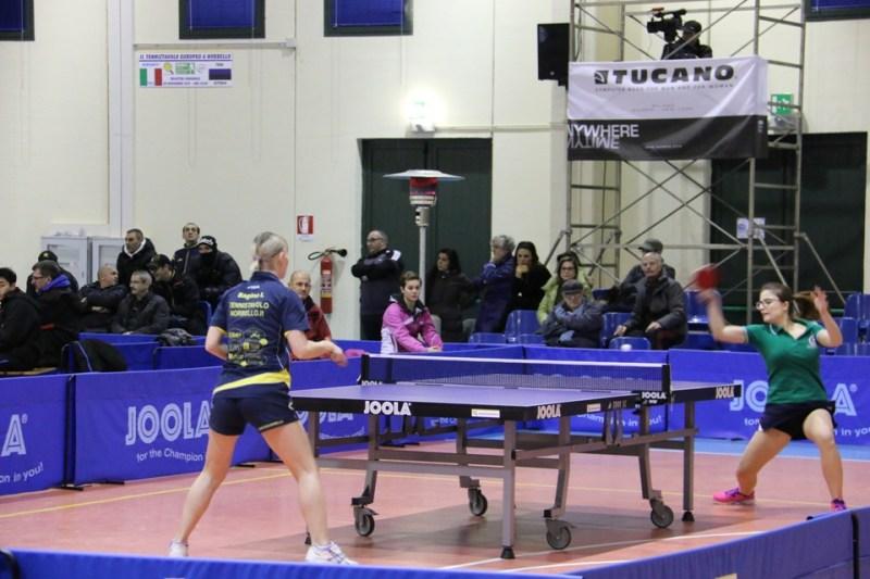 Irina Bagina vs Montalbano Norbello 16-01-2016