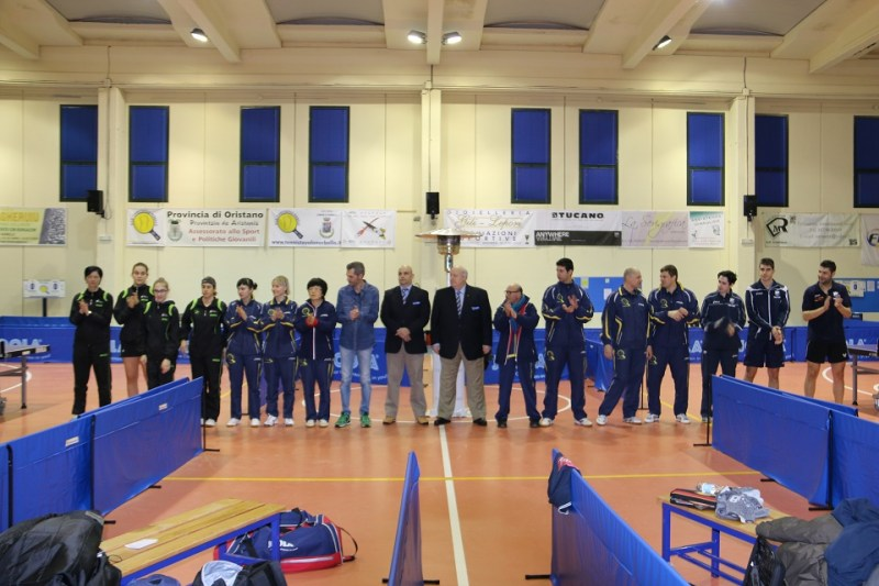 La presentazione delle gare (Foto Gianluca Piu)