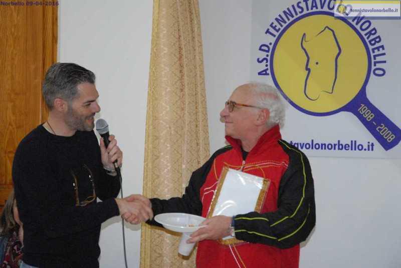 Il presidente Simone Carrucciu con il presidente del Tennistavolo Parma Giuseppe Nuzzi (Foto Donisetta Carrucciu)
