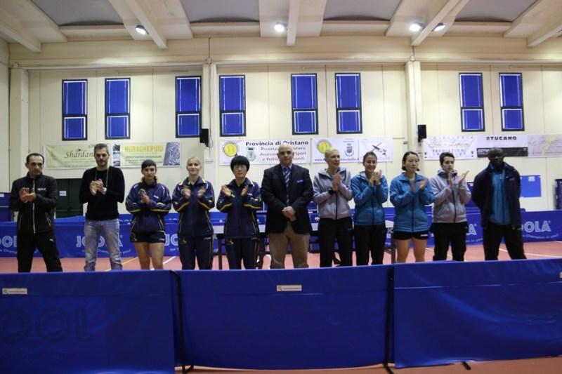 La presentazione della semifinale d'andata (Foto Gianluca Piu)