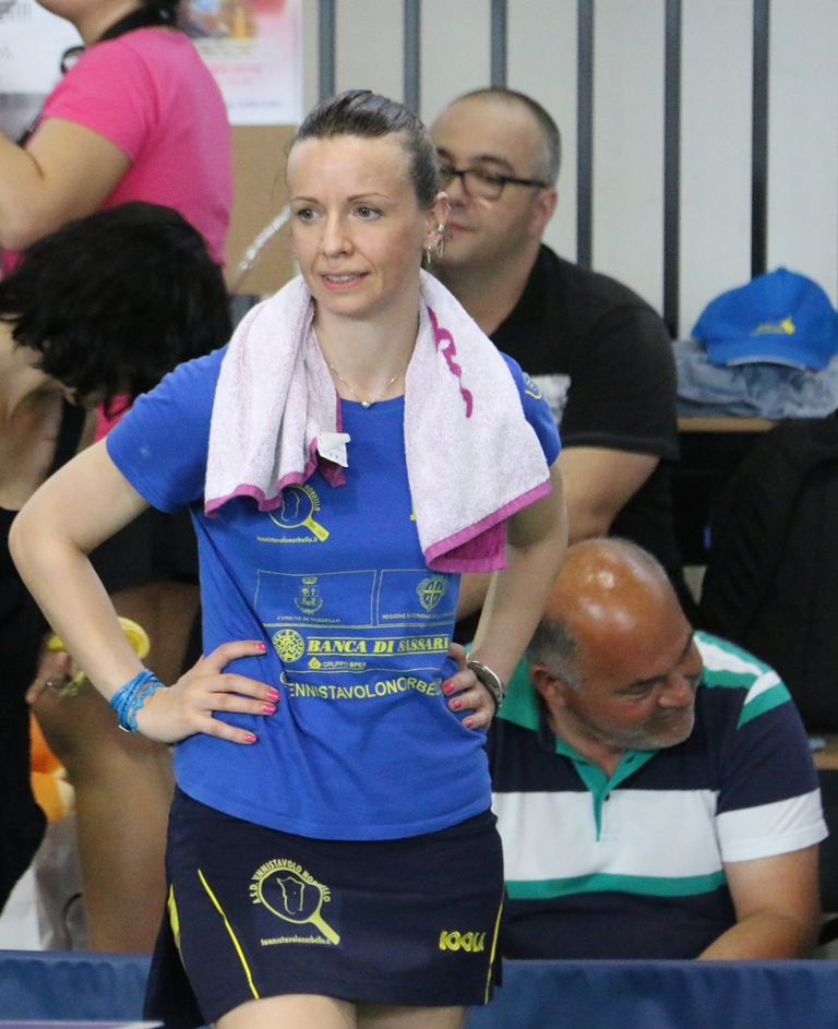 Una raggiante Marialucia Di Meo (Foto Gianluca Piu)