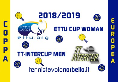 Il Tennistavolo Norbello alle Coppe Europee 2018/2019