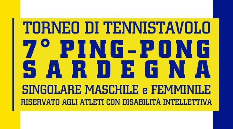 """Torneo di Tennistavolo """"7° Ping-Pong Sardegna"""" – 08 dicembre 2018"""