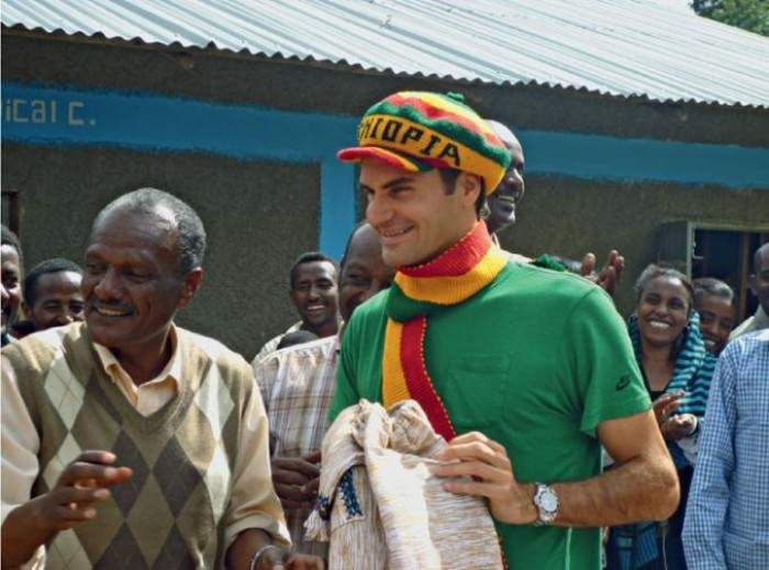 Roger Federer: ´Africa Is a Magical Continent, We Want to Give Children a Better Life´
