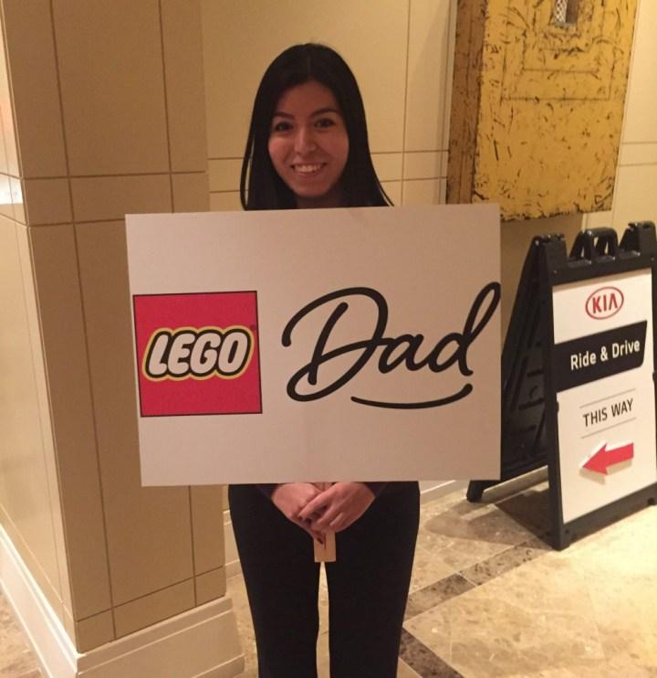 Lego Dad Sign