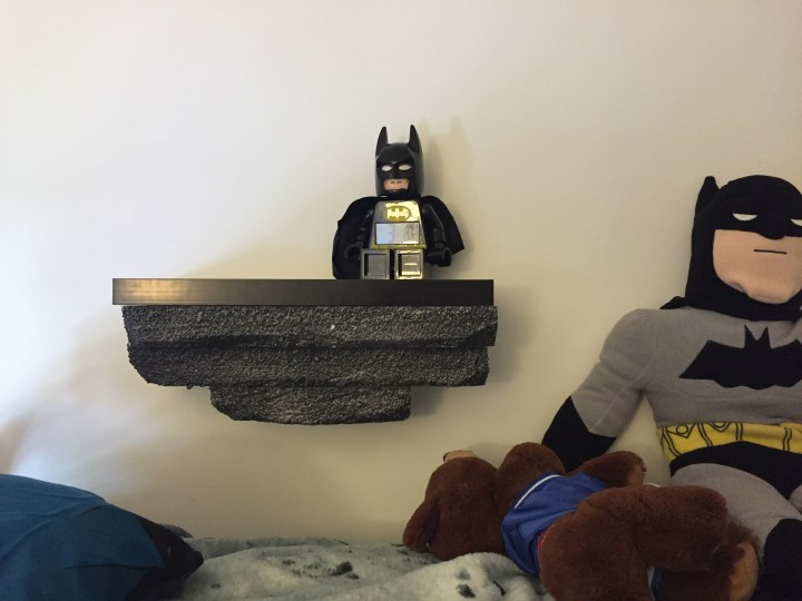 DIY Batman Shelf