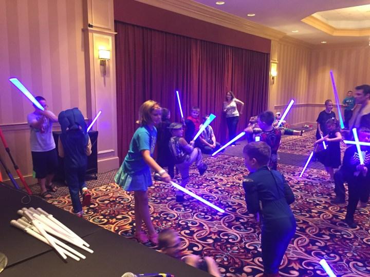 Vermont Comic Con Jedi Training