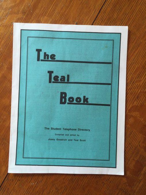 Childhood Sale - Teal Book