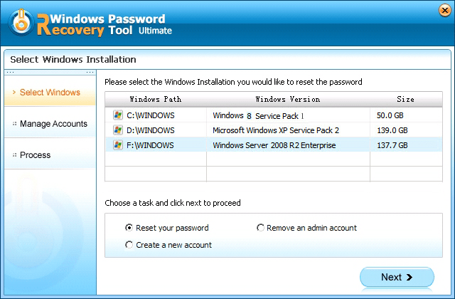 reset windows 8.1 password