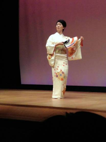 Japanischer Tanz mit Ami Fujima