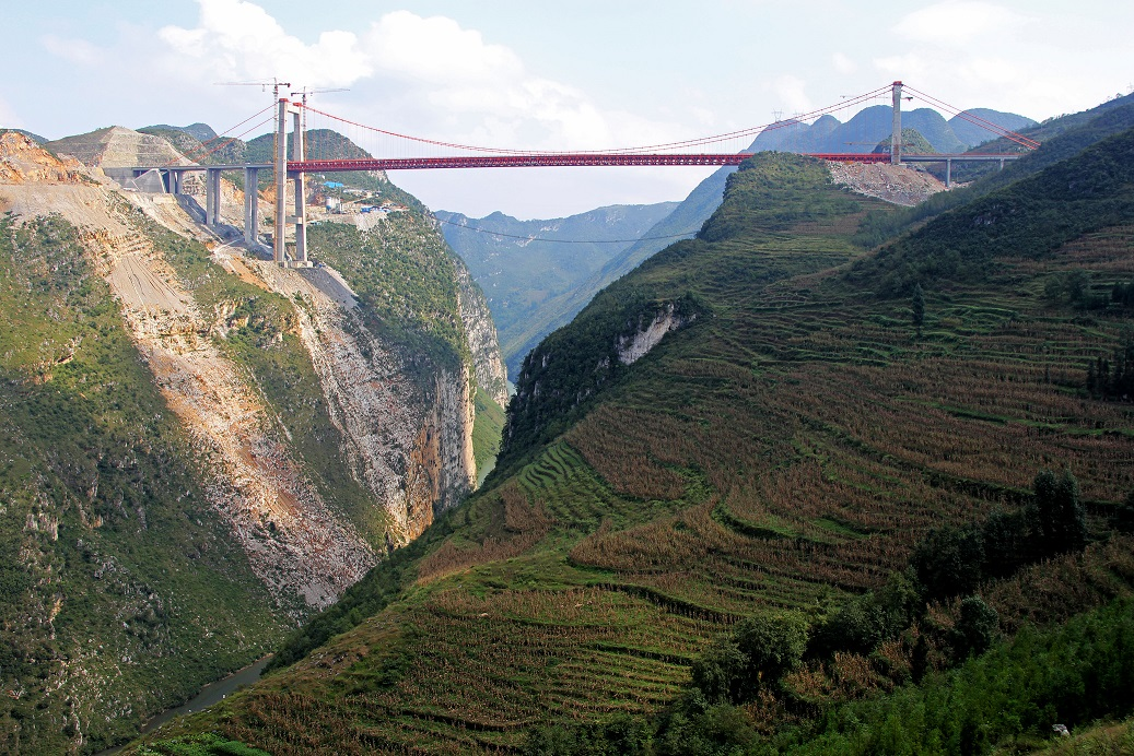 Dimuhe River Bridge, China