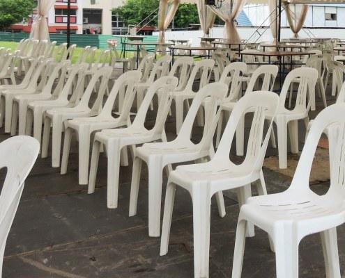 white PVC Chairs