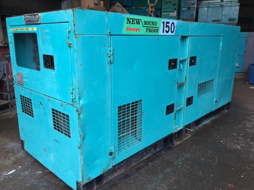 150kva denyo generator