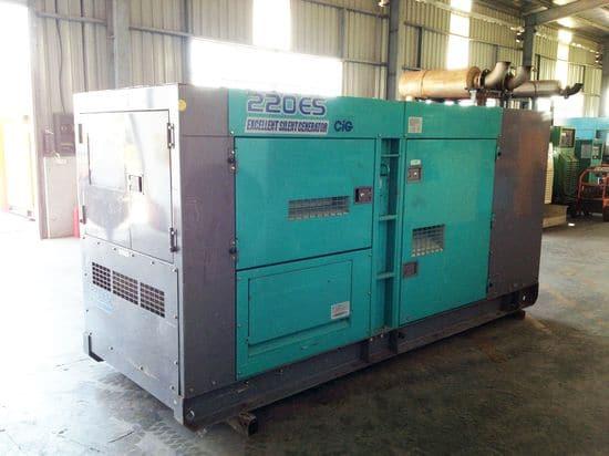 220kva denyo generator
