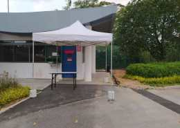 3m x 3m portable tent for security booth