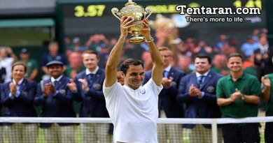 Federer defeated Cilic 6-3,6-1,6-4