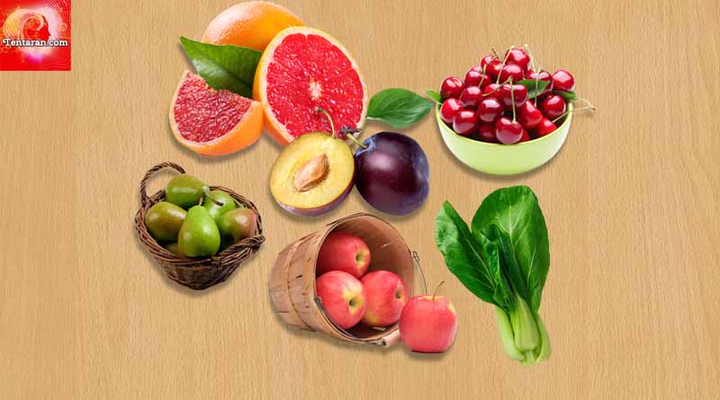 Fruits and vegetables are good