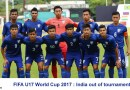 FIFA U17 World Cup 2017 : India out of tournament