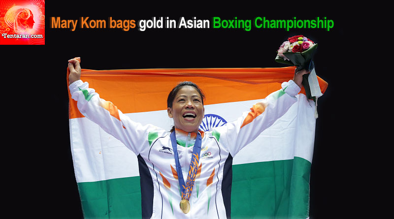 Mary Kom bags gold in Asian Boxing Championship