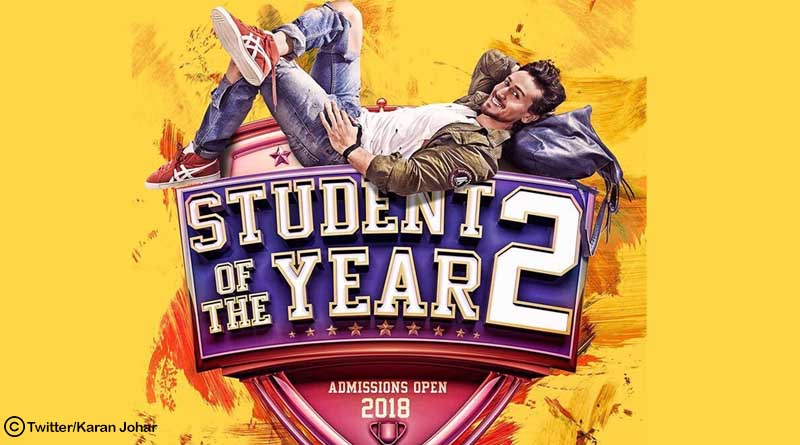Karan Johar unveils the first look of Tiger Shroff starring Student of the year 2