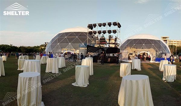 Party Dome Tent Canopy With Luxury Decoration For Open