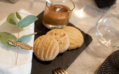 Biscuits au beurre et praliné faits maison au thermomix