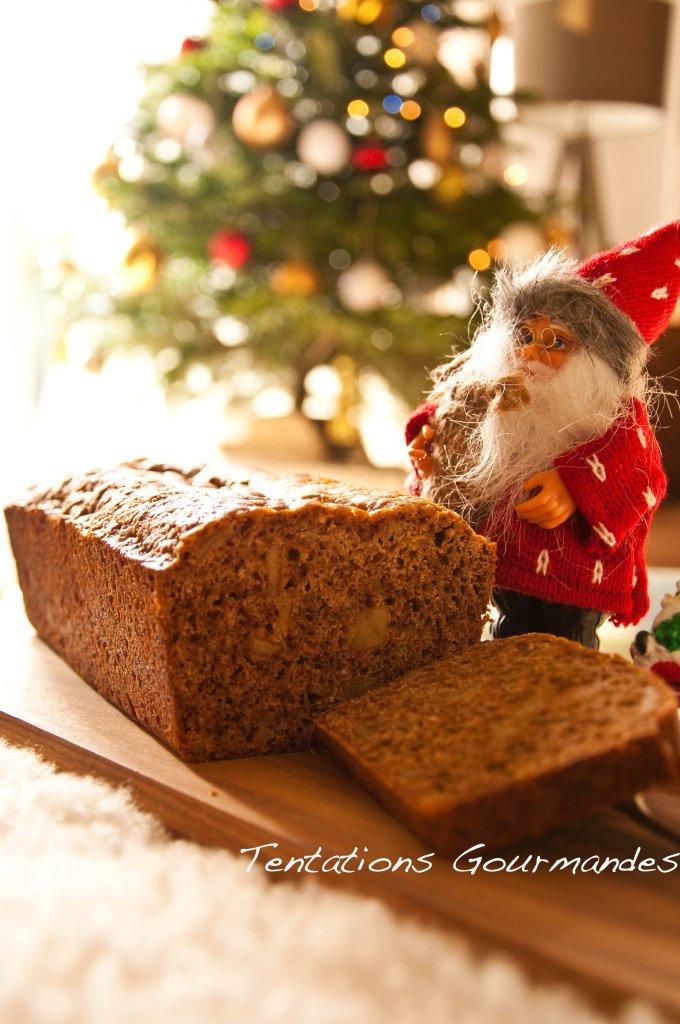 Mon pain d'épices gourmand de Noël