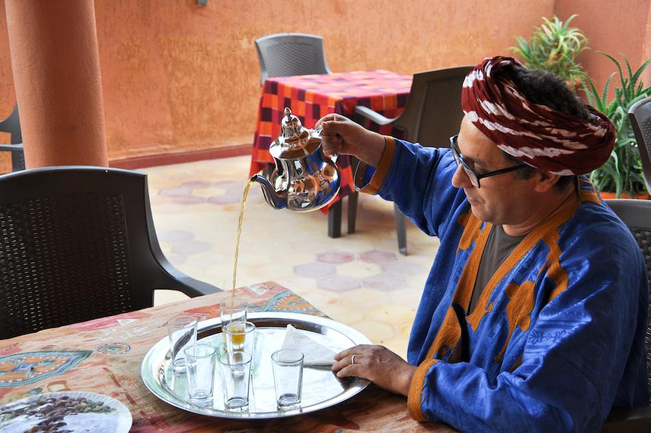 Mahfoud auberge du safran à Taliouline