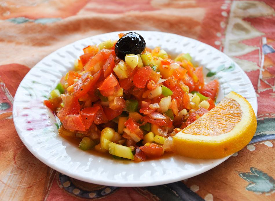 Salade marocaine auberge du safran