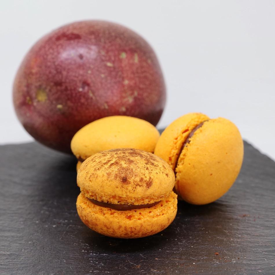 Macarons chocolat-passion