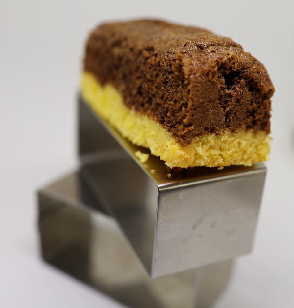Ma version des barres chocolat doux coco de Philippe Conticini
